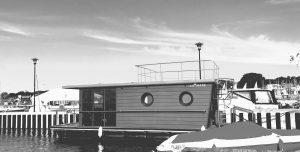 pływające houseboaty